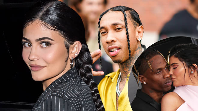 Kylie Jenner was reportedly spotted leaving ex-boyfriend Tyga's recording studio at 2am.