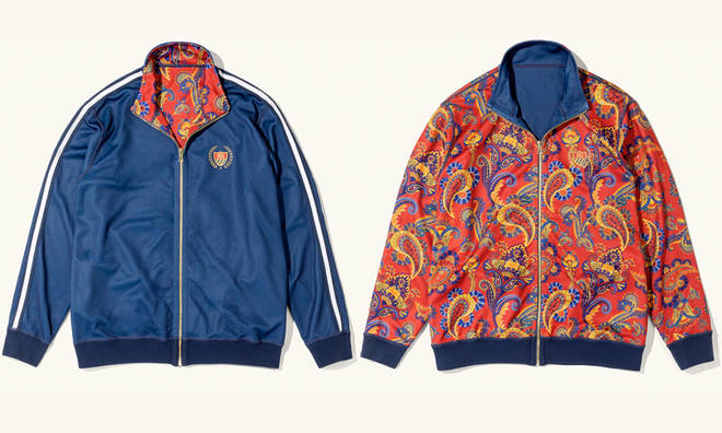 Will Smith's 'Bel-Air Athletics' clothing line includes famous reversible jacket.