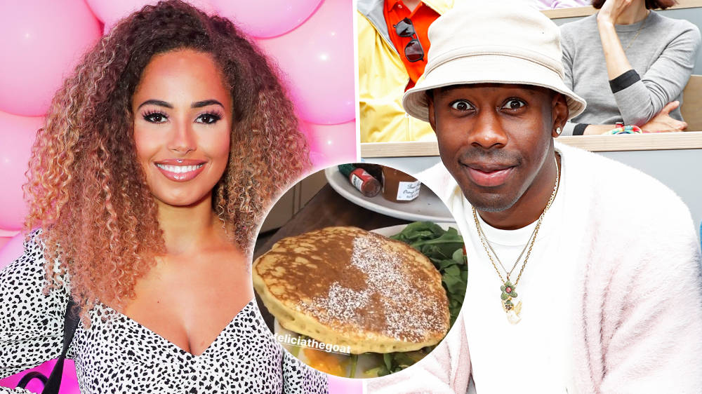 Love Island's Amber Gill & Tyler The Creator Share Breakfast In Surprise Video
