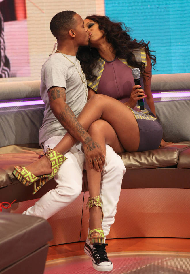 "Bow Wow and Tyra shocked audience members at BET&squot;s ""106 & Park"" back in July 2013 with their surprise kiss."