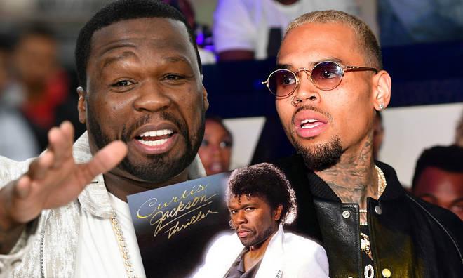 50 Cent Trolls Chris Brown's dancing with Michael Jackson meme