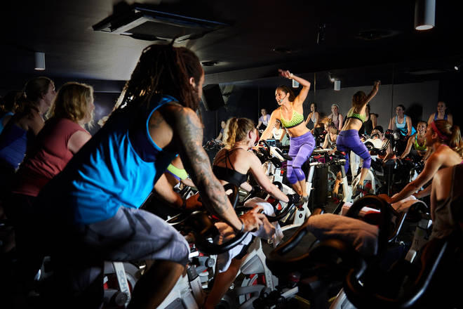 Join Yinka and Shayna Marie in a special spin class courtesy of Boom Cyle