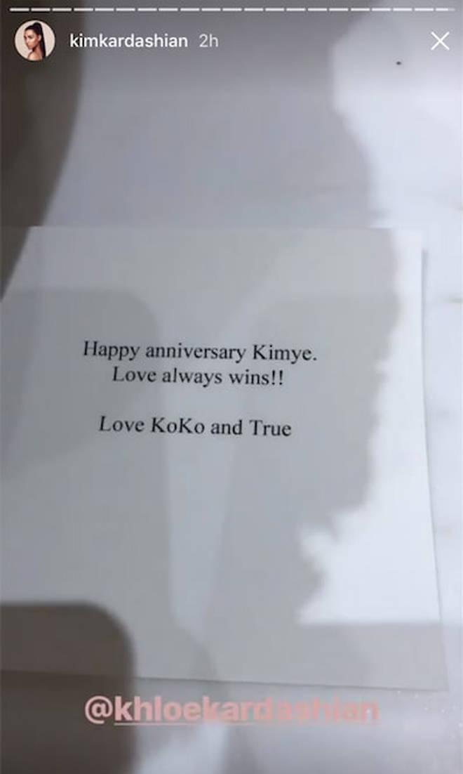 Khloe Kardashian Letter