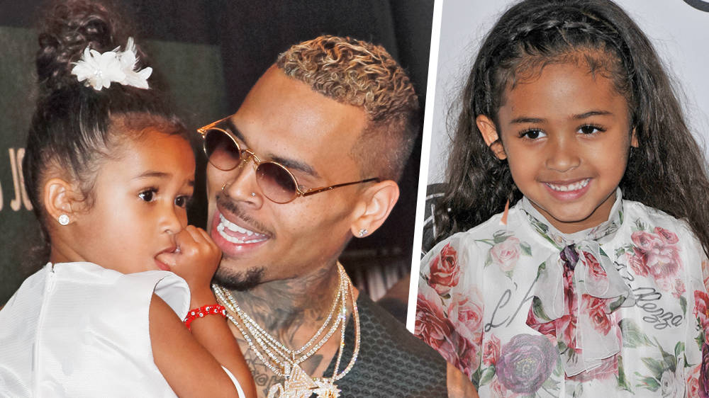 Chris Brown Brings Daughter Royalty On Stage With Him During Show