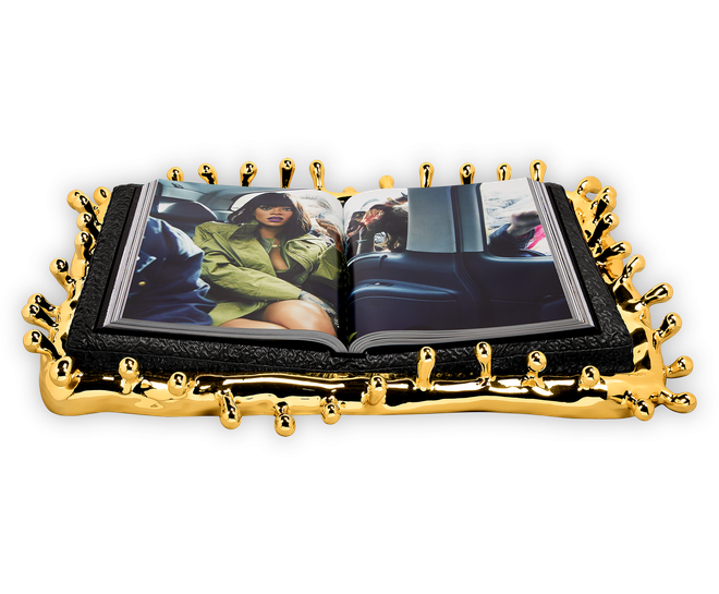 Rihanna's Luxury Supreme Book