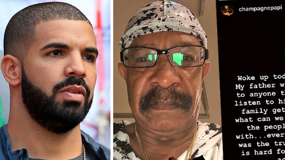 """Drake Admits He's """"Hurt"""" After His Father Claimed He Lies In His Music"""