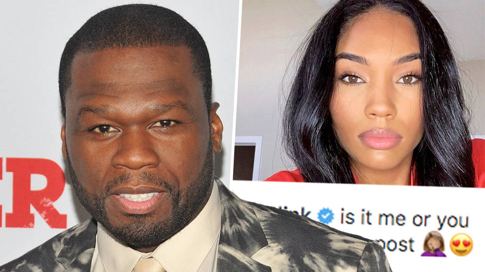 50 Cent's Rumoured Girlfriend Posts Thirsty Comment On Rapper's Instagram