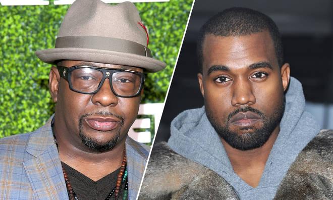 Bobby Brown & Kanye West.