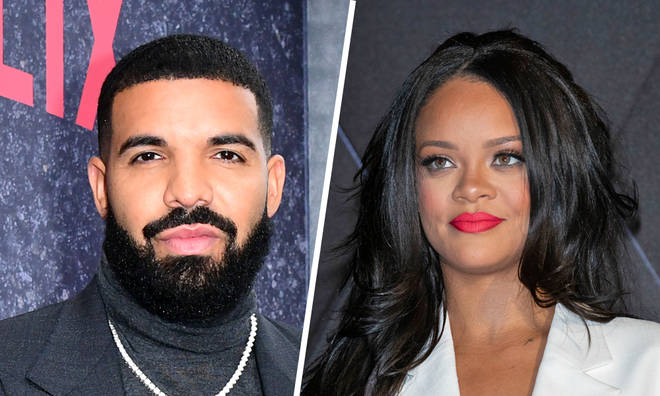 Rihanna quotes Drake song when asked pregnancy question