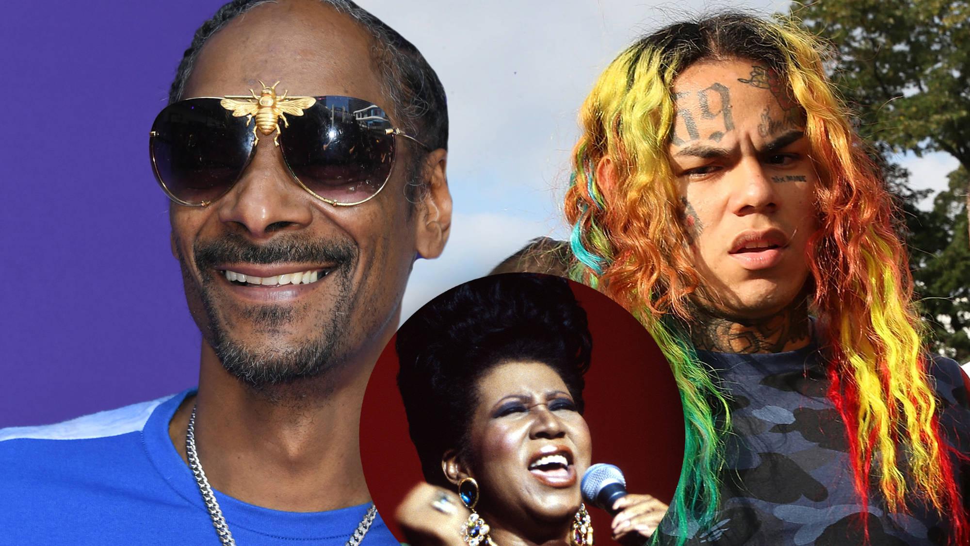 Snoop Dogg Trolls Tekashi 6ix9ine By Comparing Him To Aretha Franklin