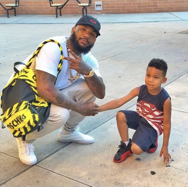 The Game, whose real name is Jayceon Terrell Taylor, got nostalgic after meeting a young boy who shares his birth name.