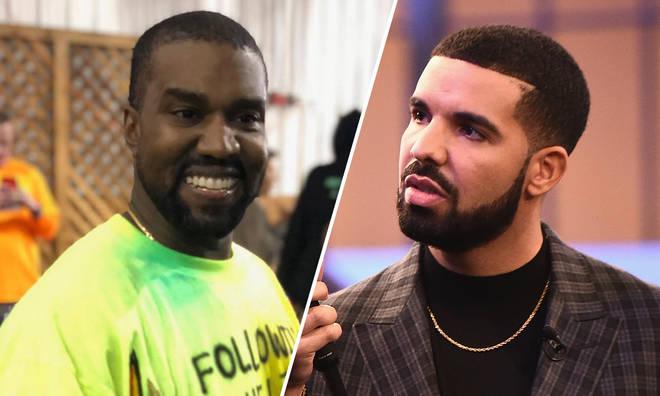 Kanye West & Drake.