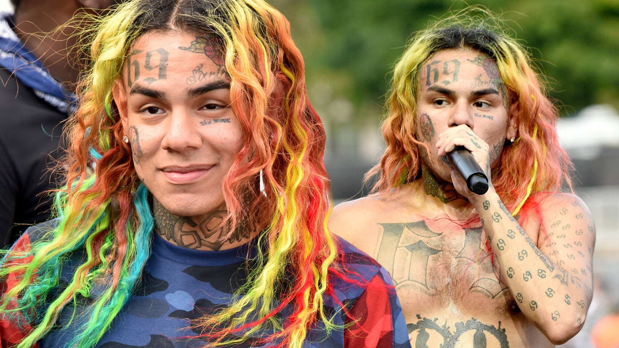Tekashi 6ix9ine Reportedly Signs $10 Million Record Deal From Jail