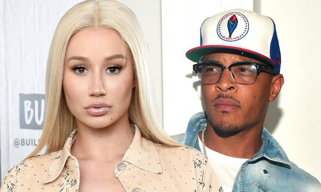 Iggy Azalea fired back at T.I. in a series of deleted tweets.