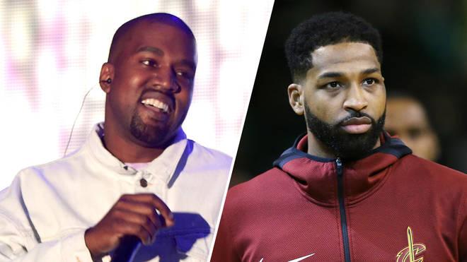 Kanye West & Tristan Thompson.