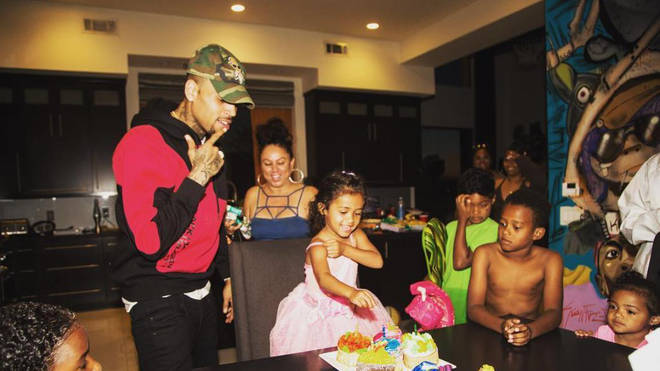 Chris Brown & Royalty Brown