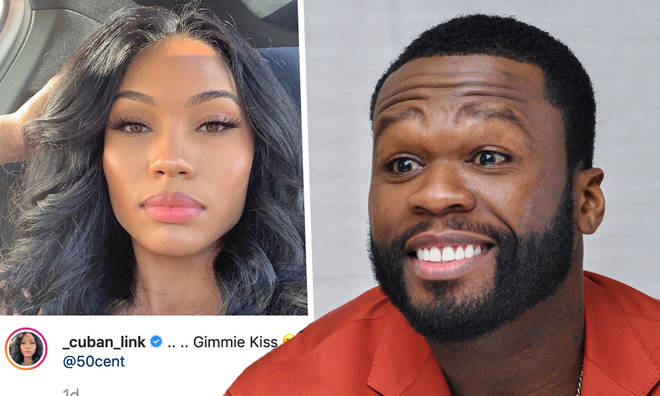 50 Cent's shares flirty messages with rumoured girlfriend on Instagram