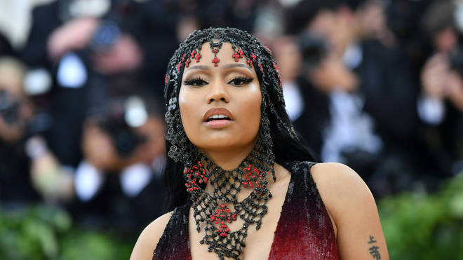 Nicki Minaj at the Met Gala 2018