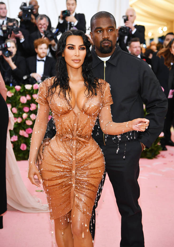 Kim Kardashian and Kanye West attended the 2019 Met Gala - the theme of which was 'Celebrating Camp: Notes on Fashion' - together. (Pictured here in May.)