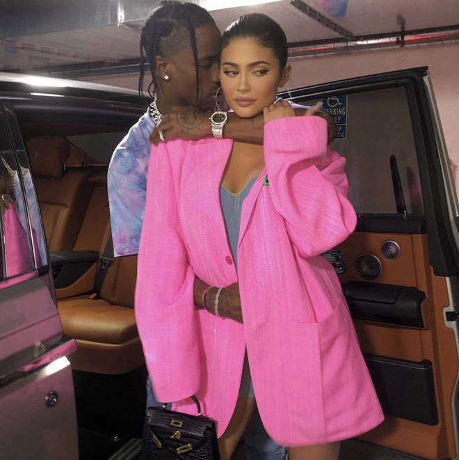 Kylie and Travis began dating in April 2017 after linking up at Coachella festival, months after her split from Tyga.