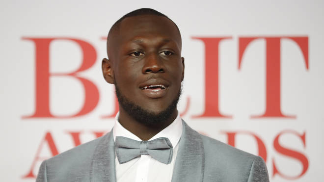 Stormzy at the BRIT Awards 2018
