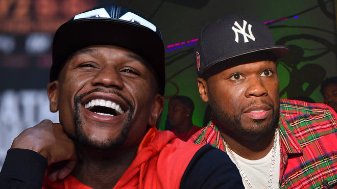 Floyd Mayweather claims 50 Cent has herpes.