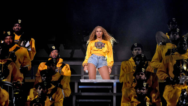 Beyonce headlining at Coachella 2018