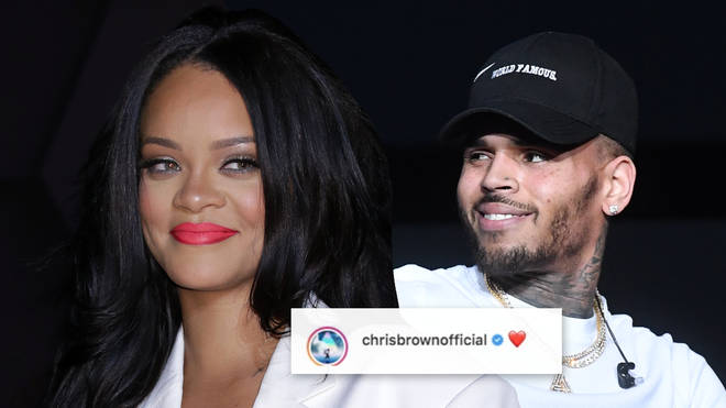 "Rihanna shared a video with Chris Brown&squot;s collaboration with H.E.R. ""Come Together"" playing in the background."