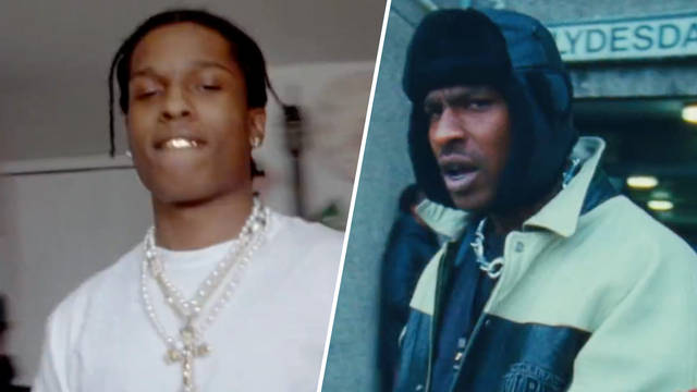 1757735b68fc ... Wore A 'Grandma' Scarf & The Internet Is Losing It. 7 months ago. A$AP  Rocky & Skepta in the music video for 'Praise The Lord (
