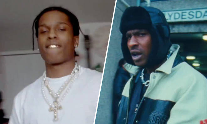A$AP Rocky & Skepta in the music video for 'Praise The Lord (Da Shine)'.