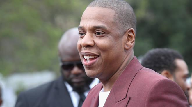 Jay Z at the 2017 Roc Nation Pre-Grammy brunch