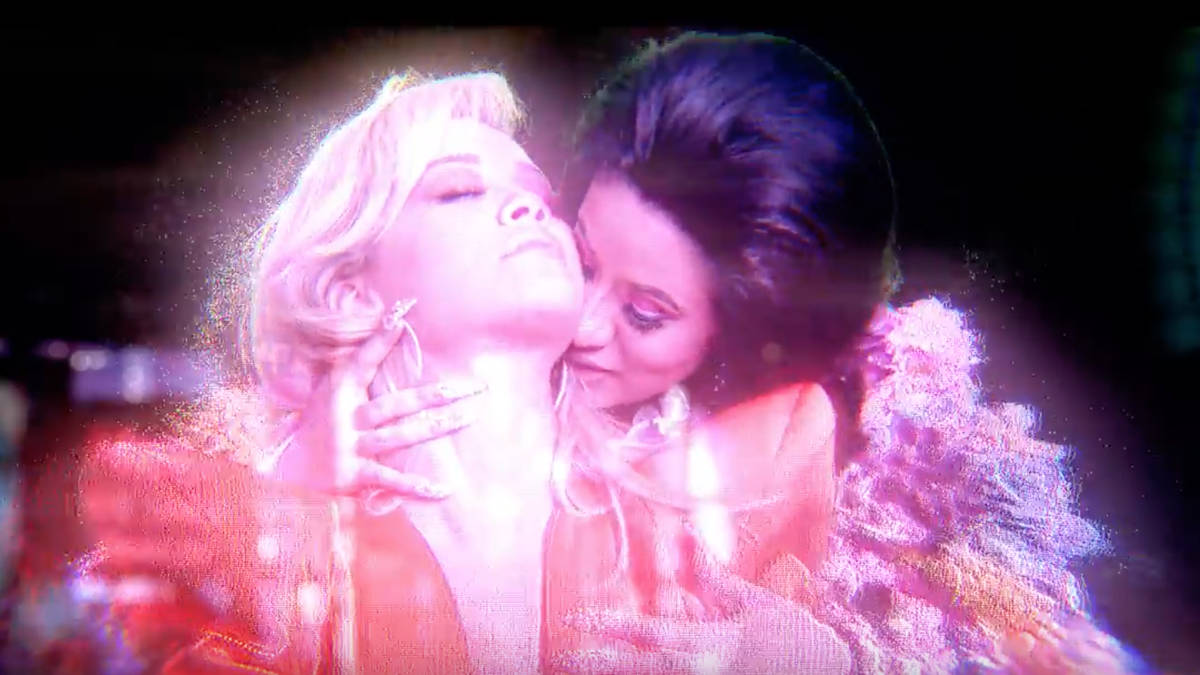 Cardi B Girlfriend: Cardi B & Rita Ora Kiss In Steamy New 'Girls' Music Video