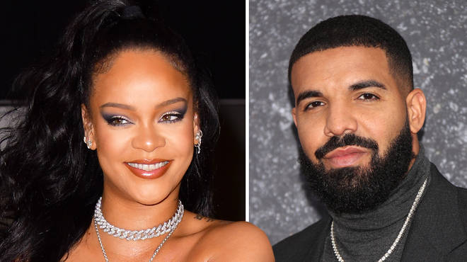 Rihanna and Drake partied together at his birthday party