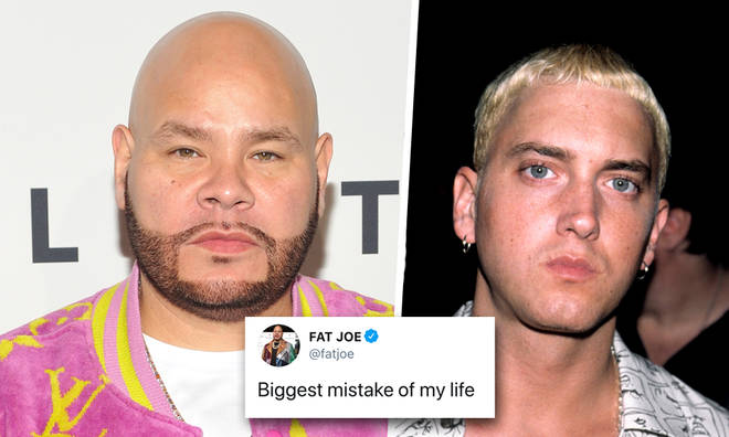 Fat Joe claims not listening to Eminem's demo is his biggest mistake