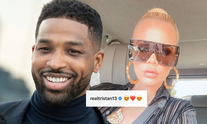 Tristan Thompson faced backlash for leaving a flirty comment on Khloe's selfie.