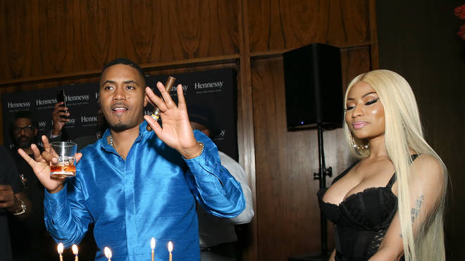 Nicki Minaj and Nas at his 44th birthday in NYC