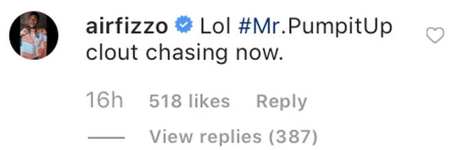 Lil Fizz claps back at Joe Budden after commenting on his and Apryl's relationship