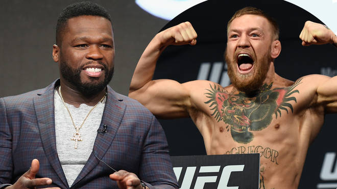 50 Cent challenged by UFC fighter Conor McGregor