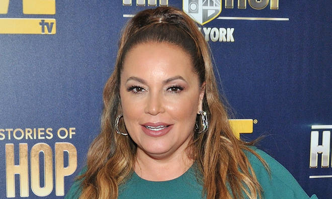 Angie Martinez injured in sever car crash