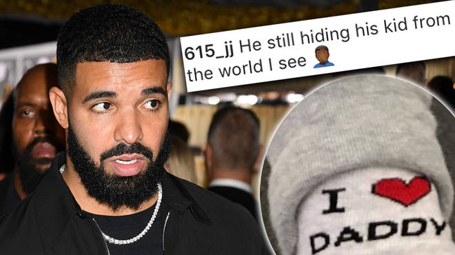Drake has received backlash after posting a photo that doesn't reveal Adonis' face