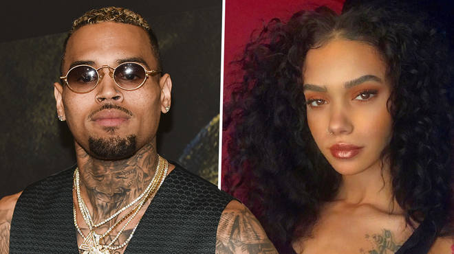 "Chris Brown has reportedly been spotted ""making out"" with model Indyamarie"
