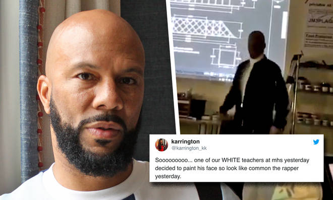 Teacher wears blackface to dress up as rapper Common