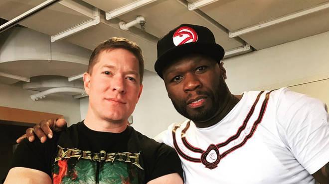 Joseph Sikora and Curtis '50 Cent' Jackson