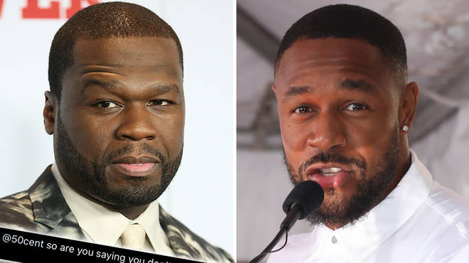 "50 Cent responds to fan who asks ""if he doesn&squot;t like gay people"""