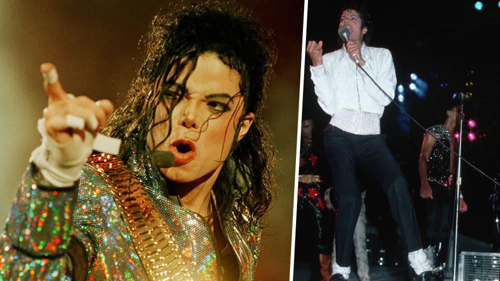 Michael Jackson's iconic moonwalk worn socks on sale for $1 million