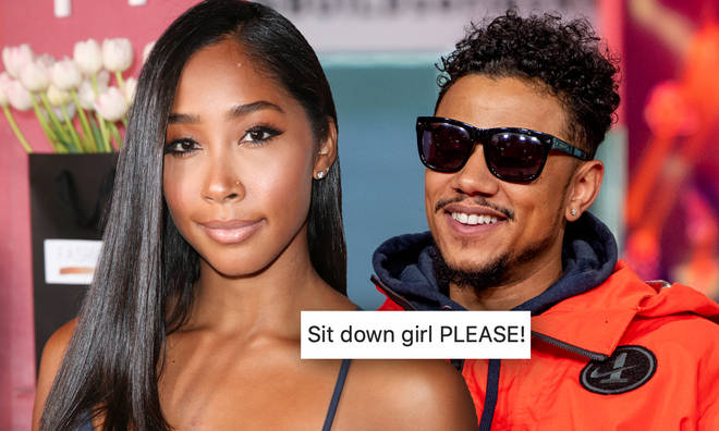 Apryl Jones addressed her recent comments on her sex life with boyfriend Lil Fizz.