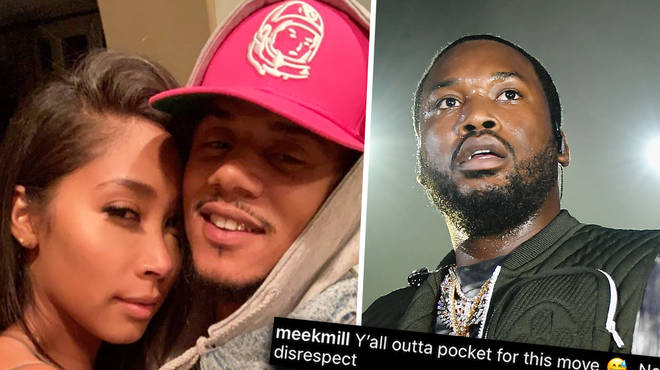 "Lil Fizz and Apryl Jones clap back at Meek Mill for his ""outta pocket"" comments"