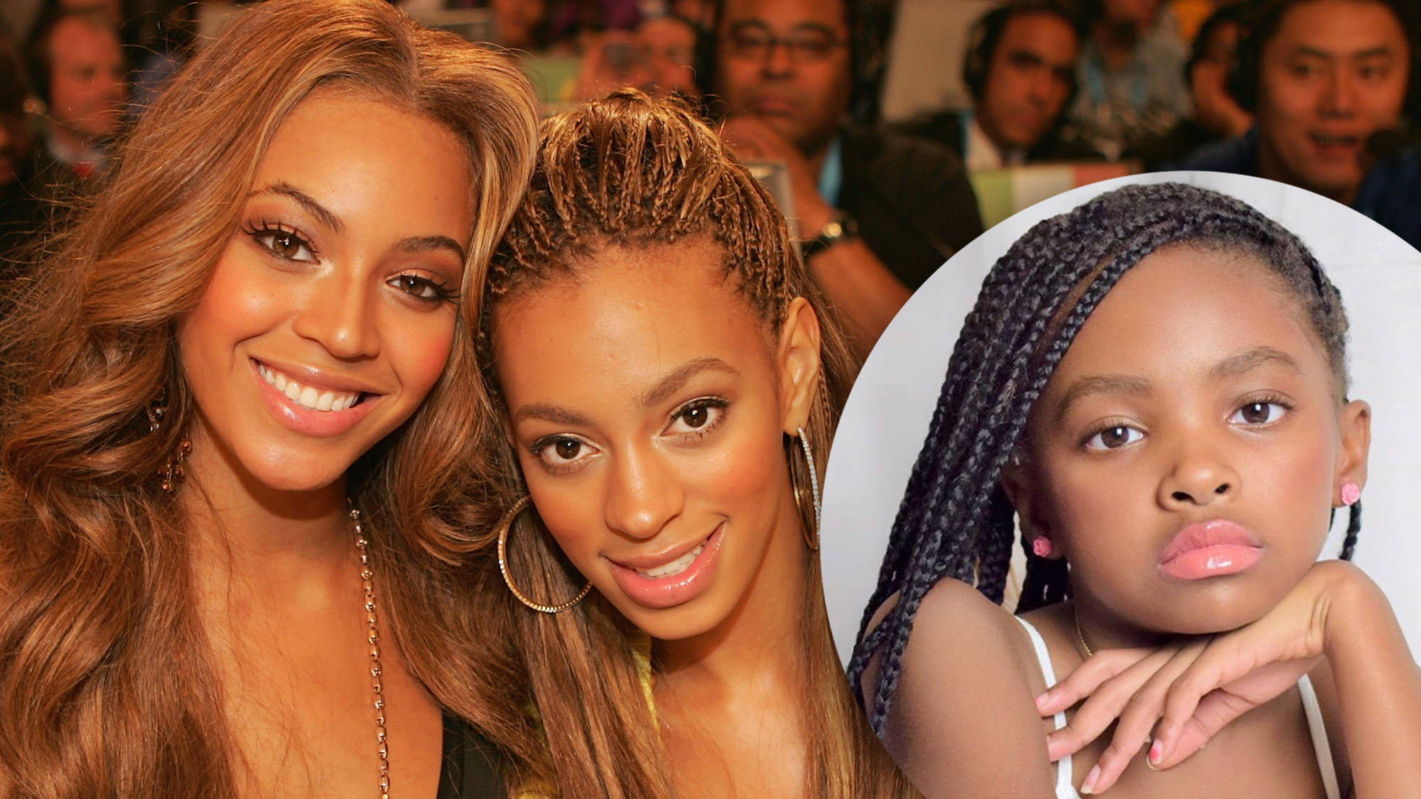 Beyonce And Solange S 9 Year Old Sister Koi Bares Striking Resemblance In New Capital Xtra