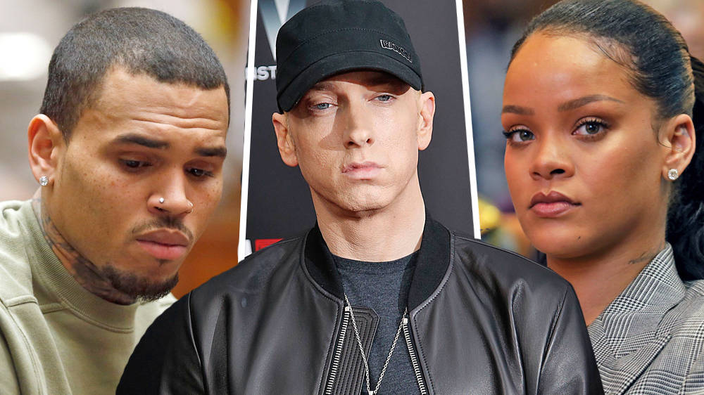 Eminem issues 'Chris Brown lyrics statement' after controversial song leaks