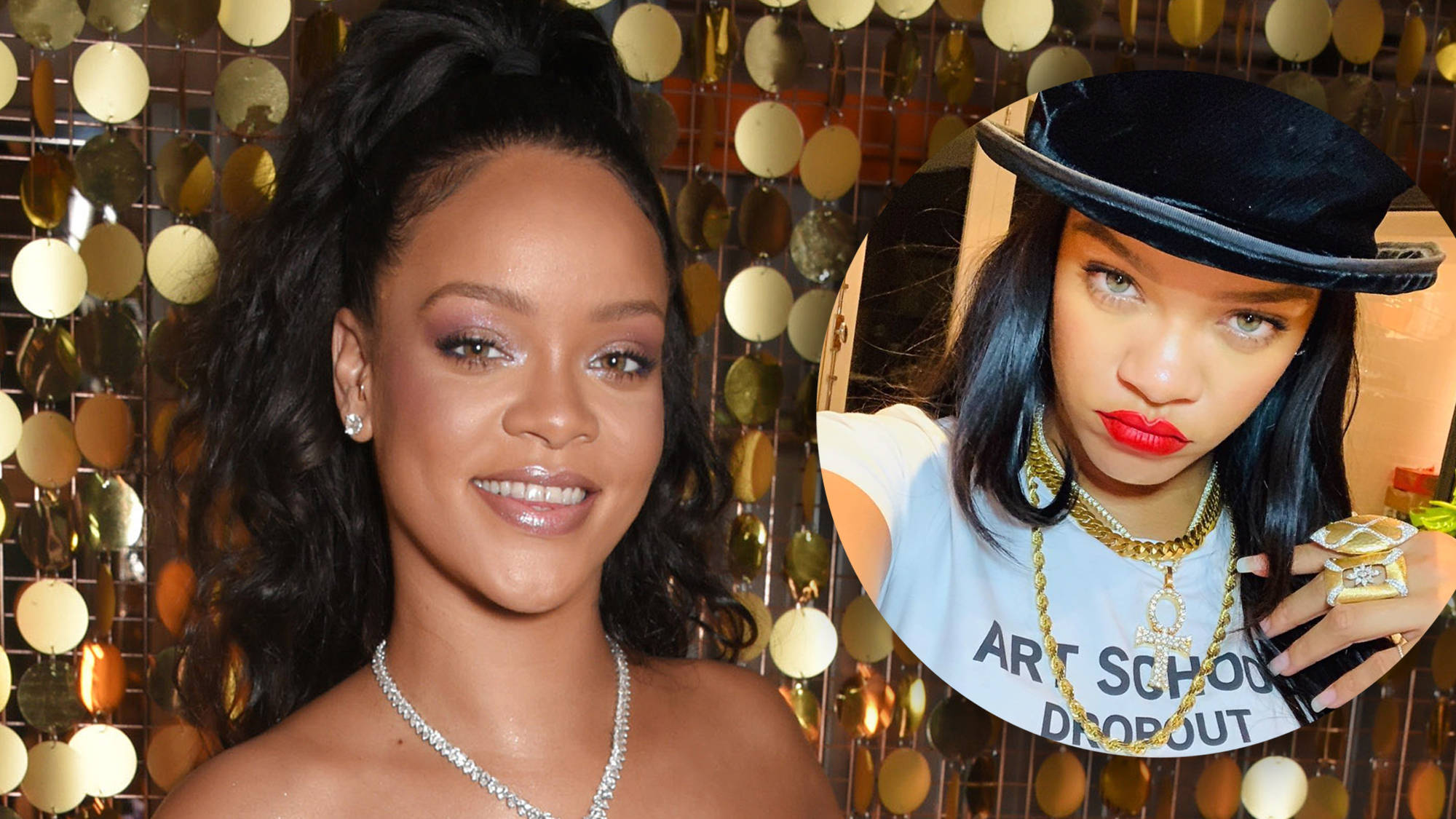 Rihanna fans convinced she revealed her new album's title in an Instagram post